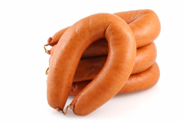 Smoked sausage.