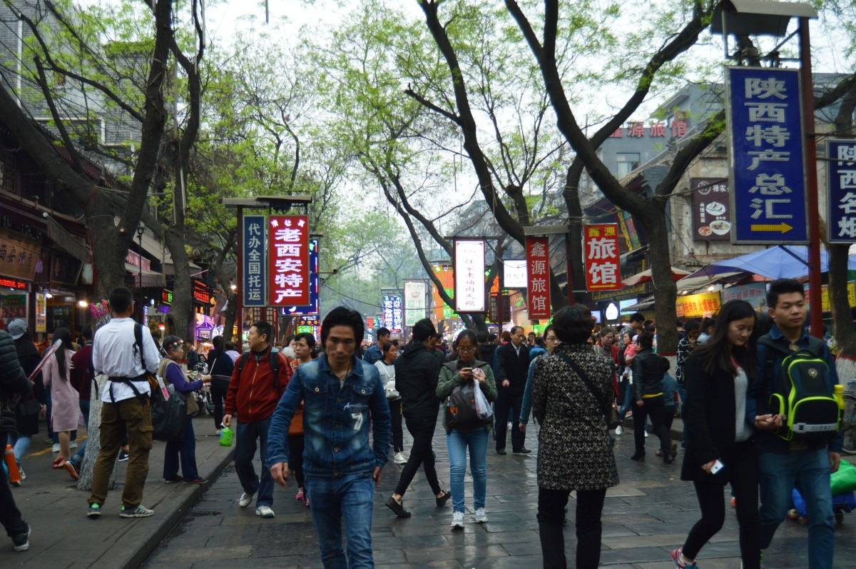 Visiting The Muslim Quarter, Xian