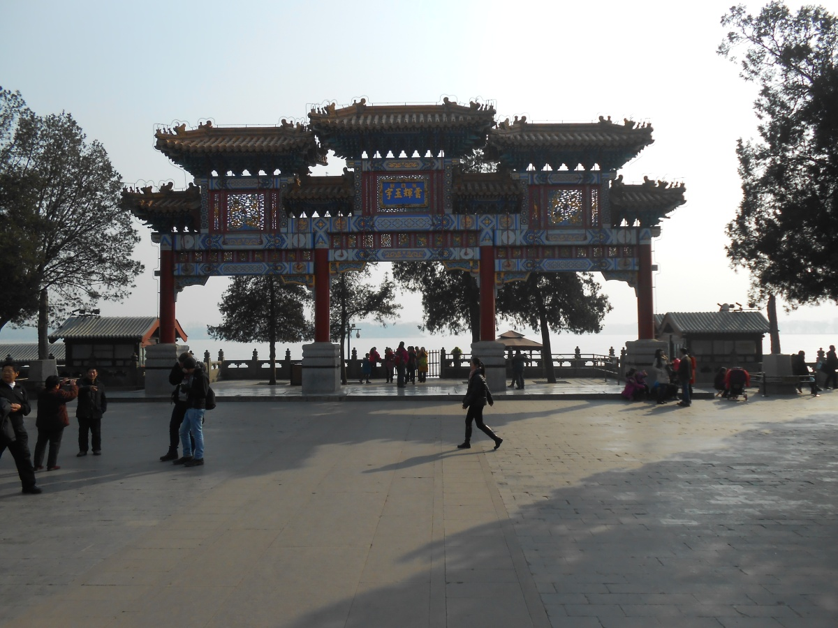 The best walking routes within the Summer Palace