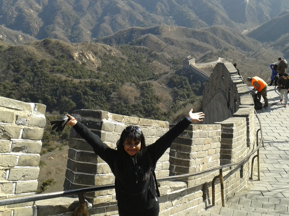 Climbing to the Tenth Tower of the Great Wall: Badaling