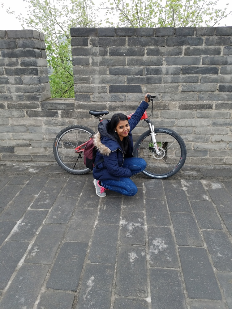Cycling the Ancient City Walls in Xian
