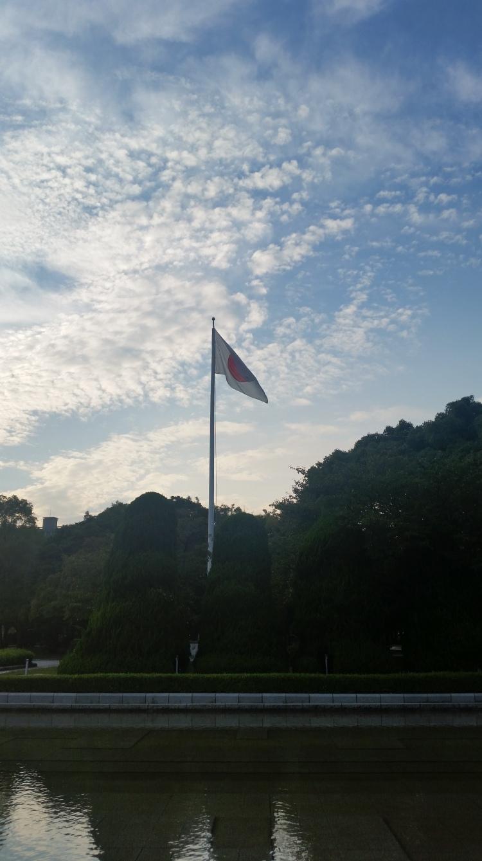Life of Shal_Hiroshima_Japanese flag