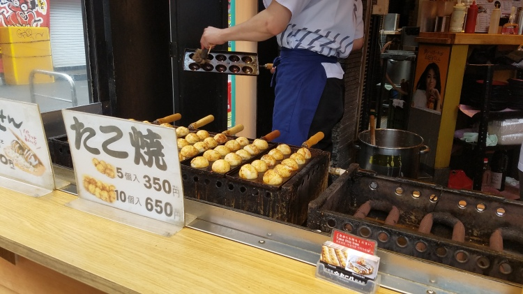 Life of Shal_Takoyaki in Osaka 3