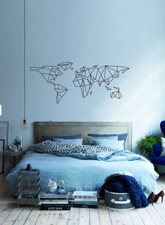 travel inspired bedrooms