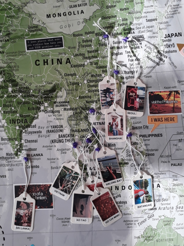 travel memory map